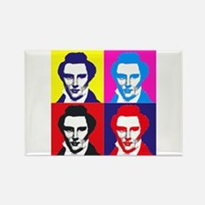 Joseph Smith Pop Art Rectangle Magnet