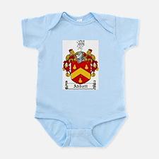 Abbott Coat of Arms Infant Creeper