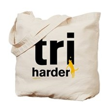 Tri Harder Tote Bag