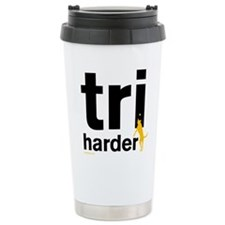 Tri Harder Travel Coffee Mug