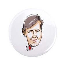 """GoVeRnOr RoBeRt McDoNNELL 3.5"""" Button"""