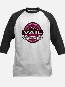Vail Raspberry Kids Baseball Jersey
