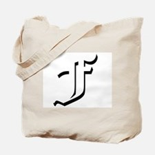 Old English F Tote Bag