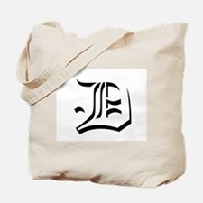 Old English D Tote Bag