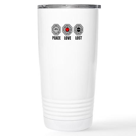 PEACE LOVE LOST Stainless Steel Travel Mug