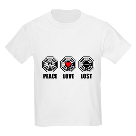 PEACE LOVE LOST Kids Light T-Shirt