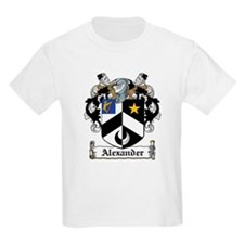 Alexander Coat of Arms Kids T-Shirt