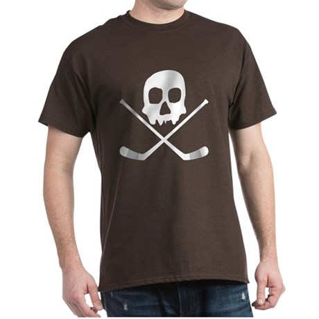 Hockey Skull Dark T-Shirt
