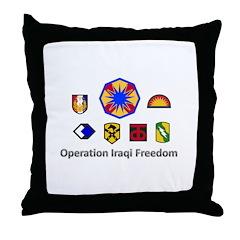 OIF 09-11 Memorabilia Throw Pillow