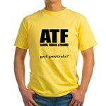 ATF Yellow T-Shirt
