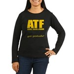 ATF Women's Long Sleeve Dark T-Shirt
