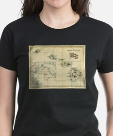 Antique Hawaii Map Tee
