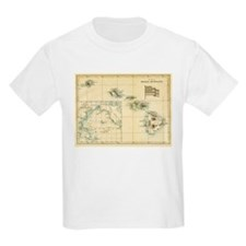 Antique Hawaii Map T-Shirt
