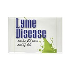Lyme Stoned Rectangle Magnet