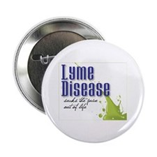 "Lyme Stoned 2.25"" Button (10 pack)"