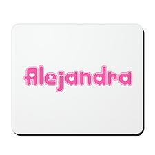 """Alejandra"" Mousepad"