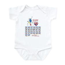 BSL Hand Alphabet - Infant Bodysuit