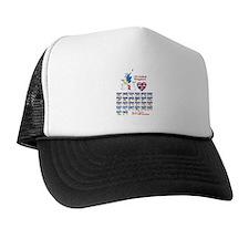 BSL Hand Alphabet - Trucker Hat