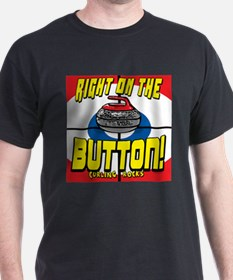 Right on The Button T-Shirt