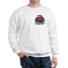 The Button 2 Sided Sweatshirt