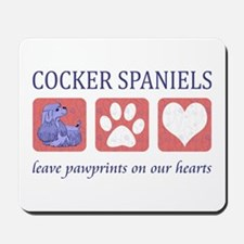 Cocker Spaniel Lover Gifts Mousepad