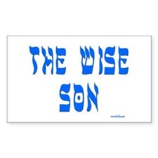 The Wise Son Passover Decal