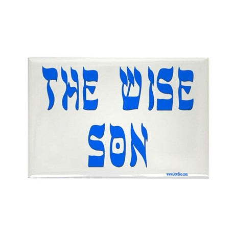 The Wise Son Passover Rectangle Magnet (10 pack)
