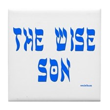 The Wise Son Passover Tile Coaster