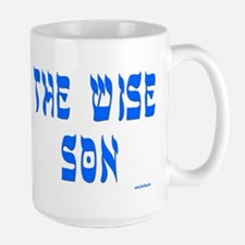The Wise Son Passover Large Mug