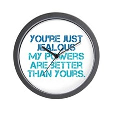 LOST Hurley Powers Quote Wall Clock