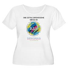 2-WDSDfrWH-corr Plus Size T-Shirt