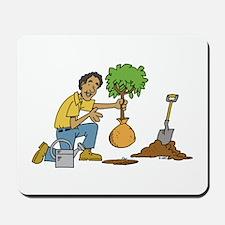 Planting Tree Mousepad