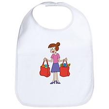 Shopping Bags Bib