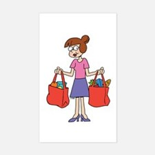 Shopping Bags Decal