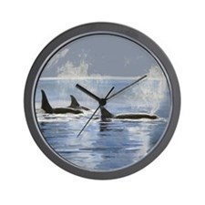 Killer Whale Orca Wall Clock