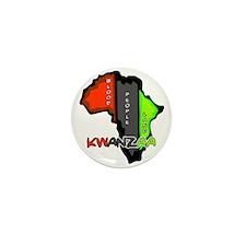 Kwanzaa Africa Mini Button (100 pack)