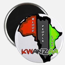 "Kwanzaa Africa 2.25"" Magnet (10 pack)"