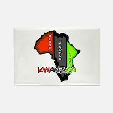 Kwanzaa Africa Rectangle Magnet