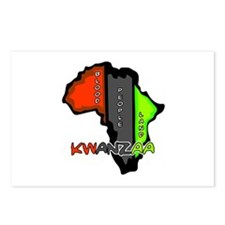 Kwanzaa Africa Postcards (Package of 8)