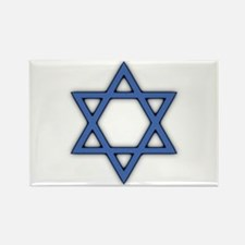 Star of David Rectangle Magnet