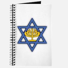 Star of David with Menorah Journal