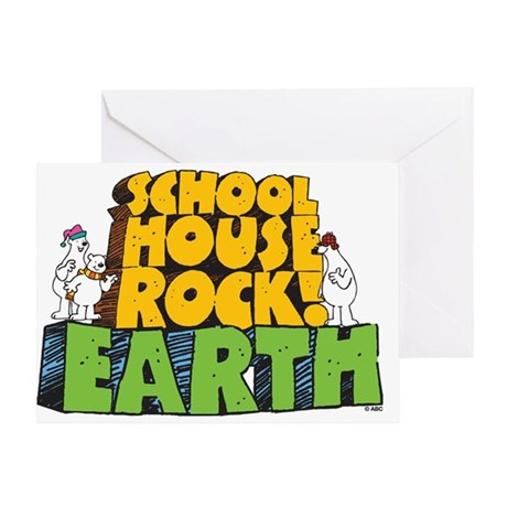 Schoolhouse Rock! Earth Greeting Card