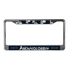 Archaeologist License Plate Frame