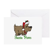 Santa Paws Dog Greeting Card