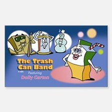 Trash Can Band Decal