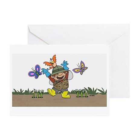 Gardener Greeting Card