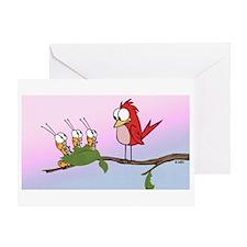 Bird Food Greeting Card
