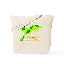 Tripawds Have More Fun Tote Bag