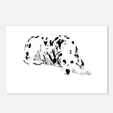 dalmation dog Postcards (Package of 8)