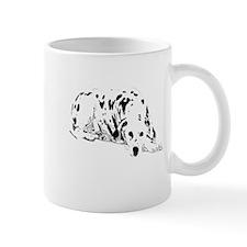 dalmation dog Mug